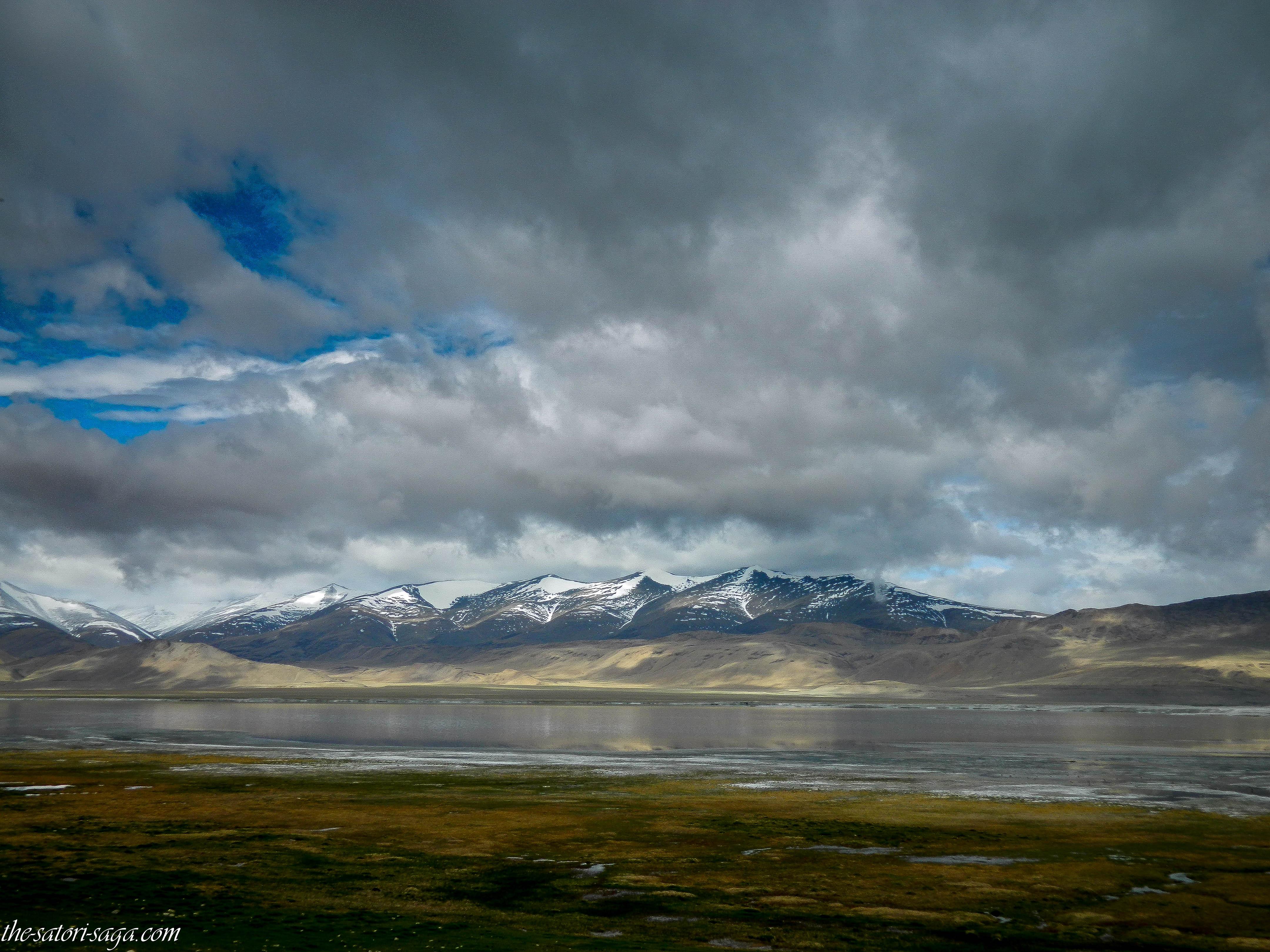 Tsokar lake - Frozen salt lake ( June 1st week)
