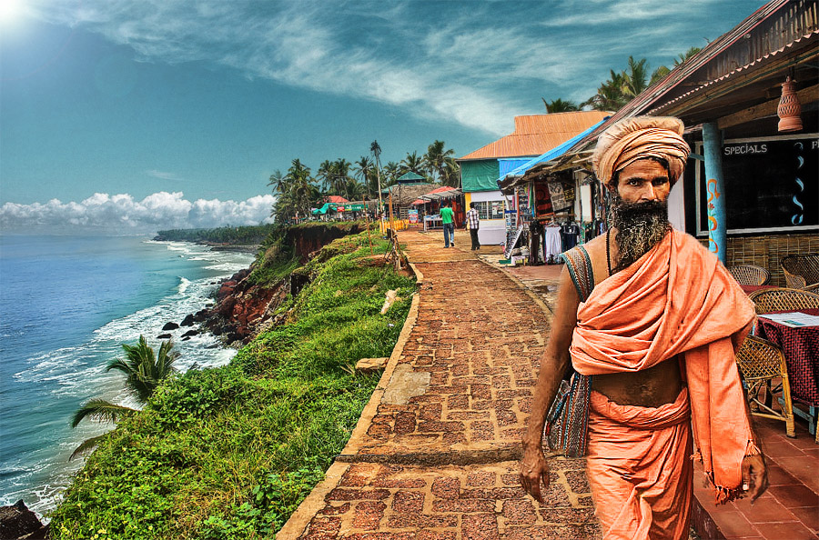 Varkala Stretch/ Image via Flickr