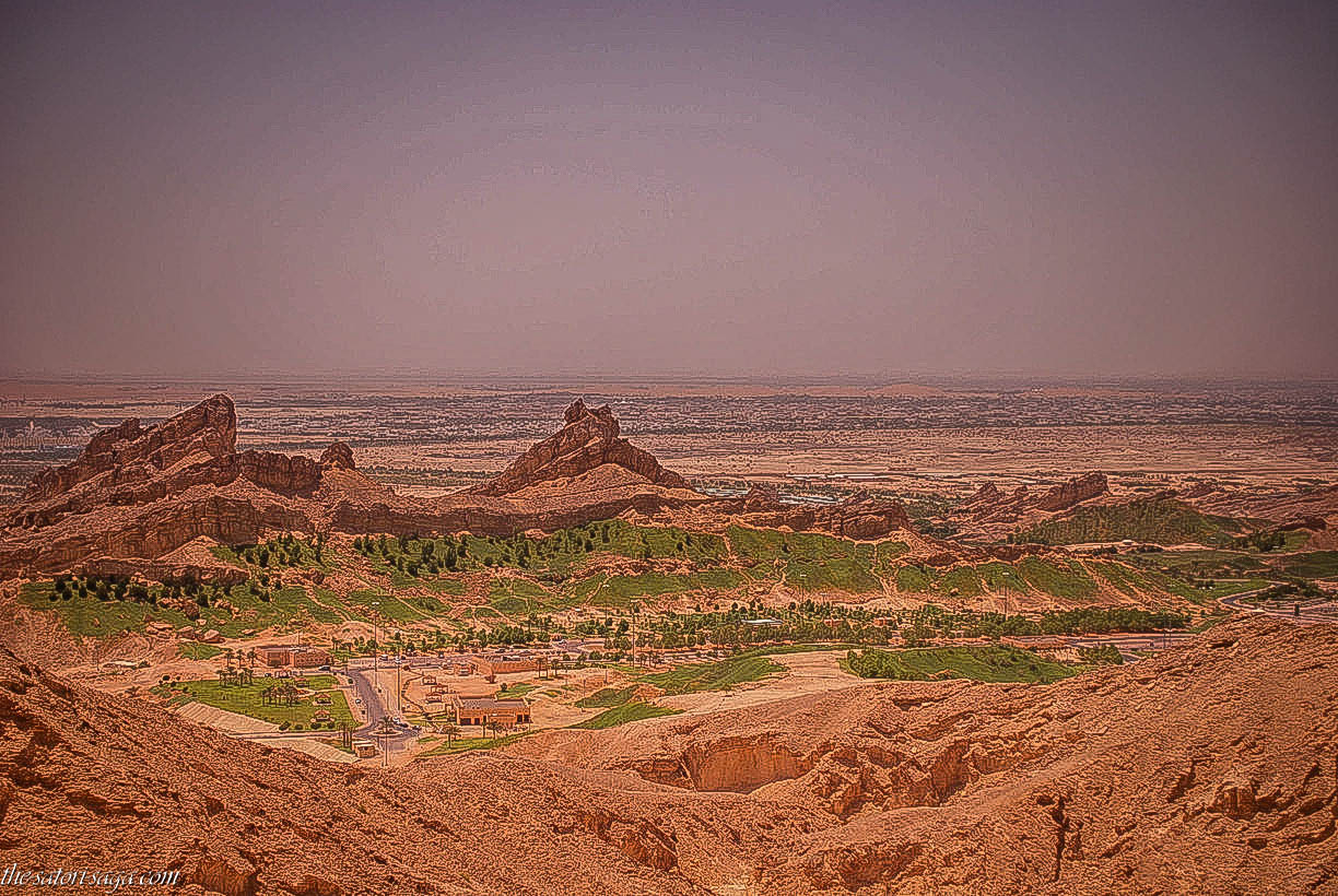 Green Mubazzarah from Jebel Hafeet